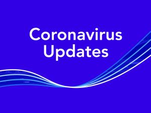 Coronavirus Updates Text Graphic