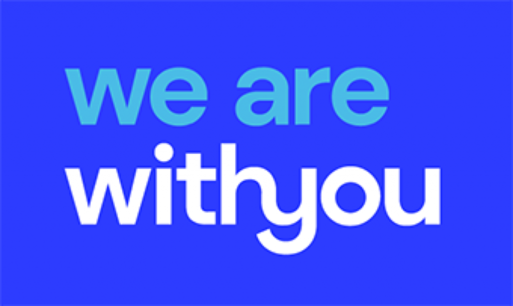Link to We are with you website